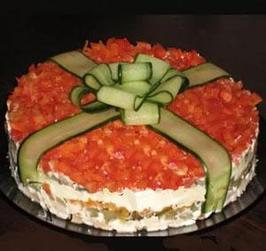 салаты легкие на день рождения простые и вкусные