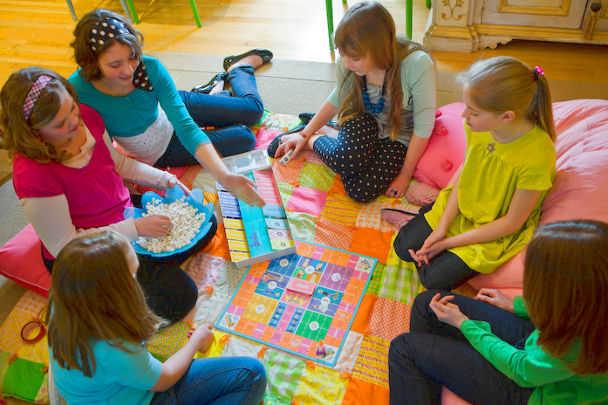 Конкурсы на день рождения для детей подвижные