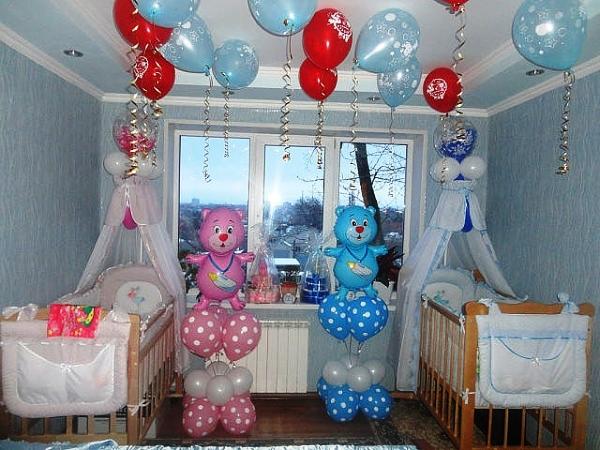 Как оформить комнату на рождение ребенка своими руками